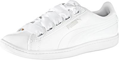 PUMA Sneakers Low 'Vikky Ribbon P' weiß