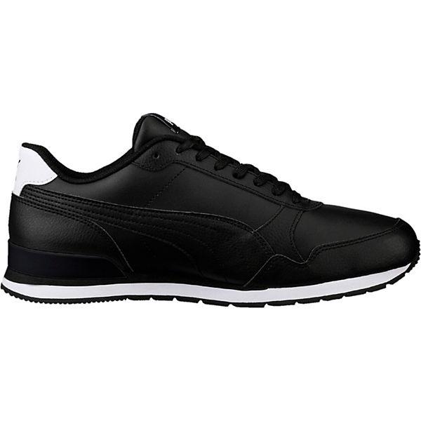 L Full St schwarz PUMA v2 Low Runner Sneakers wtIxtPdfq