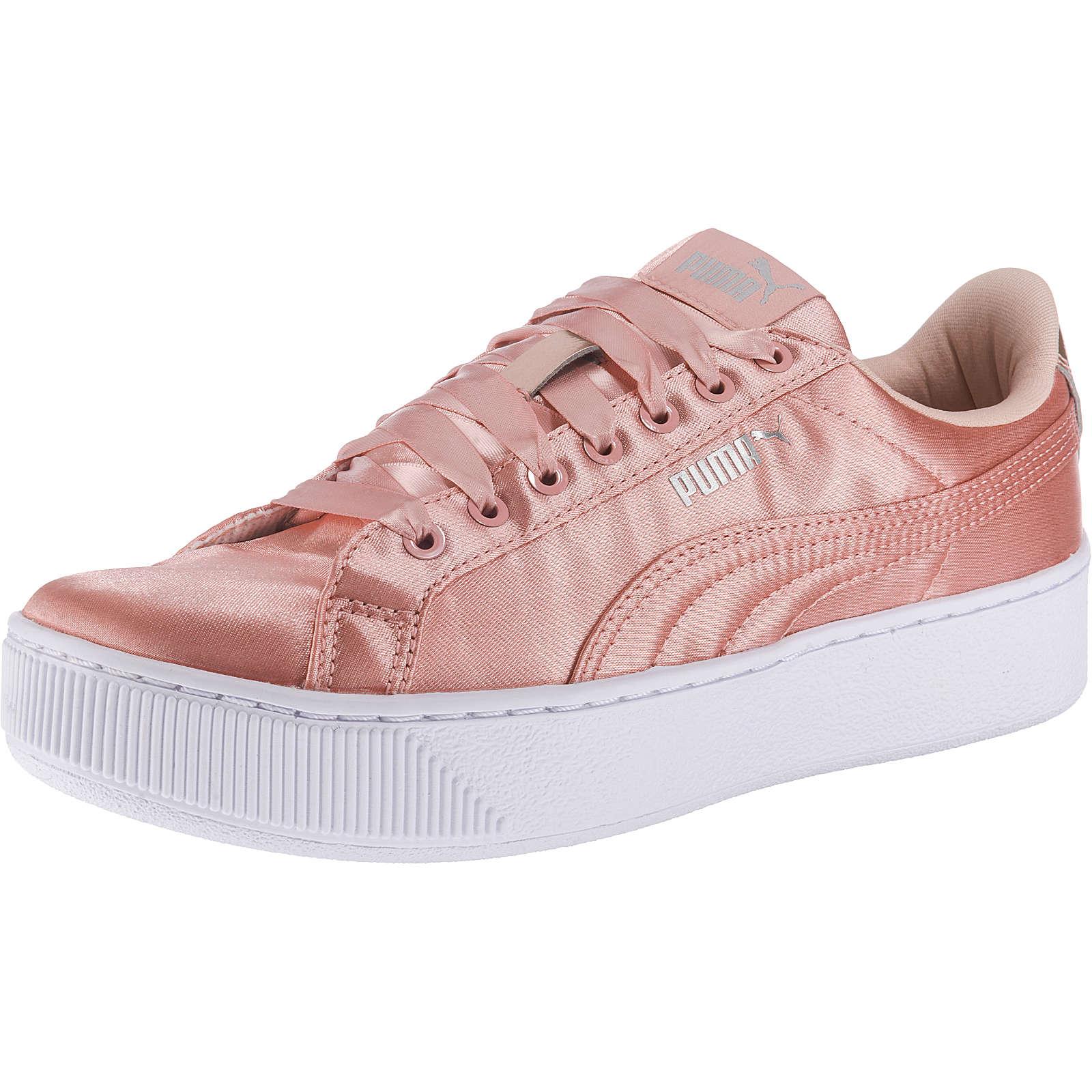 PUMA Vikky Platform EP Sneakers Low rosa Damen Gr. 36