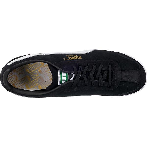 Low kombi Roma Sneakers Suede schwarz PUMA aC6gRqwn