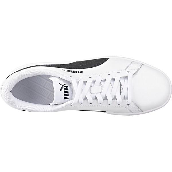 L V2 Weiß Smash Low Puma Sneakers w4P11q