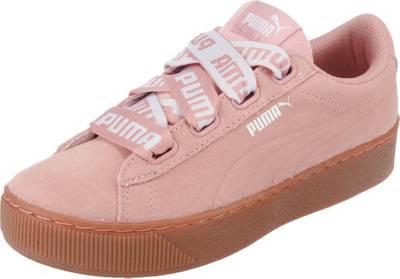 puma sneaker plateau rosa