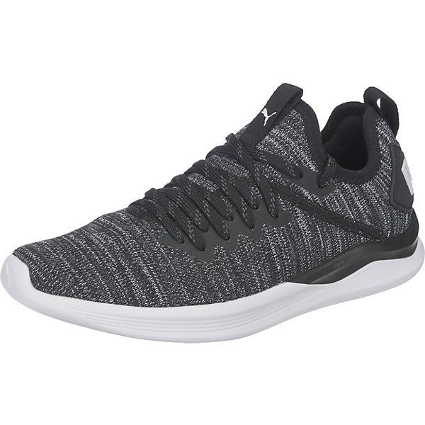 Ignite Low Wn's Flash Ep Satin schwarz Sneakers Reebok evoKnit d0wfzd