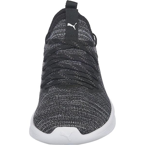 Reebok, Sneakers Ignite Flash evoKnit Satin Ep Wn's Sneakers Reebok, Low, schwarz   b075b3