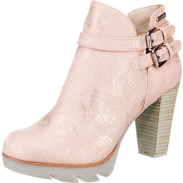 am besten auswählen wähle authentisch neue Kollektion bugatti, Elenor Evo Stiefeletten, rosa | mirapodo