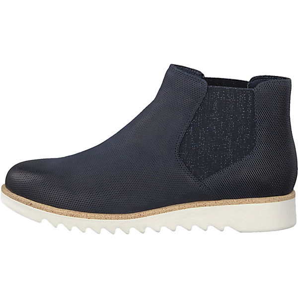 Tamaris, Chelsea Chelsea Tamaris, Boots, blau   6439ae