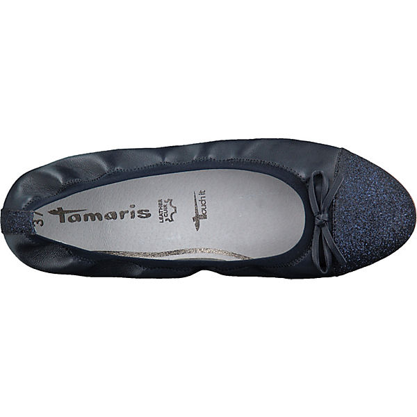 kombi Tamaris Tamaris Klassische Ballerinas blau blau kombi Klassische Ballerinas 8ScgcFwqW