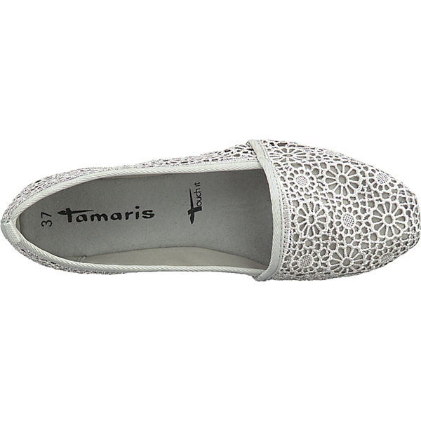 Tamaris Tamaris grau Klassische Slipper Slipper Klassische grau Tamaris w5FxfIq