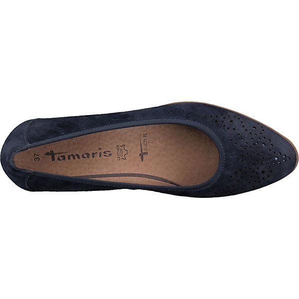 Tamaris Pumps Klassische Klassische blau Tamaris RqgRZnSB