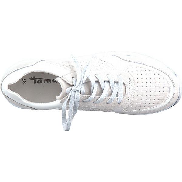 Tamaris, Sneakers Low, weiß-kombi  Schuhe Gute Qualität beliebte Schuhe  3ea9b9