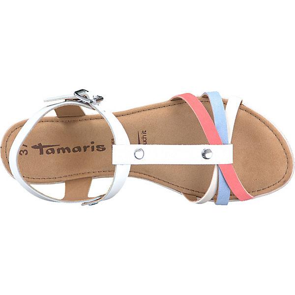 Tamaris Klassische Sandalen weiß-kombi  Gute Qualität Qualität Qualität beliebte Schuhe f96c54