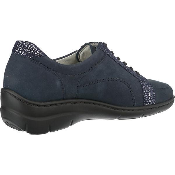 WALDLÄUFER, Hania Gute Klassische Halbschuhe, blau  Gute Hania Qualität beliebte Schuhe 83a7ad