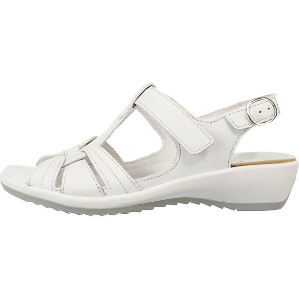 Weiß Ginger sandalen 1 Komfort Waldläufer Modell qtRdURx