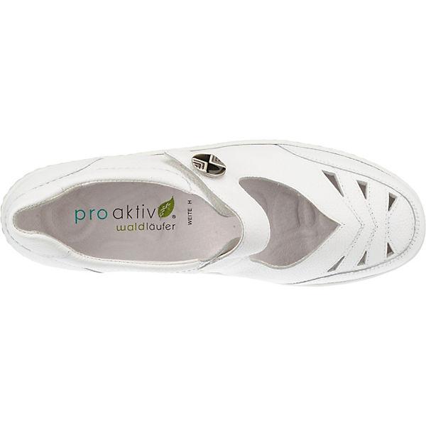 slipper Modell Waldläufer Henni 1 Weiß Komfort 80pq0ZwF1a