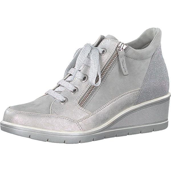 silber Tamaris High kombi Sneakers Tamaris Sneakers TIqwtdd