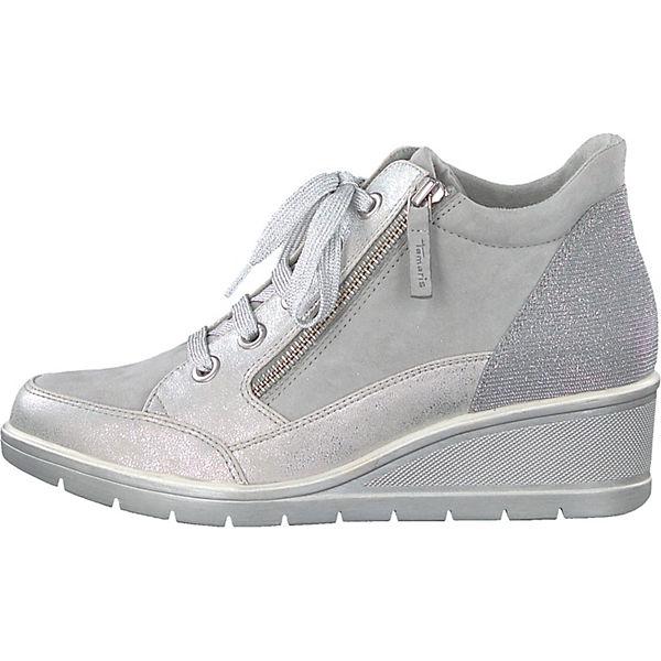 Tamaris, Sneakers High, silber-kombi beliebte  Gute Qualität beliebte silber-kombi Schuhe 9a3d06