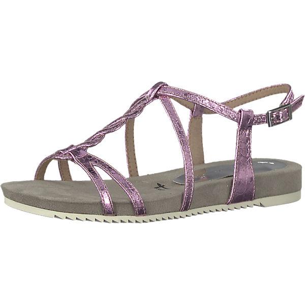 Tamaris Klassische kombi Klassische Sandaletten Sandaletten rosa Tamaris Fqc7xd