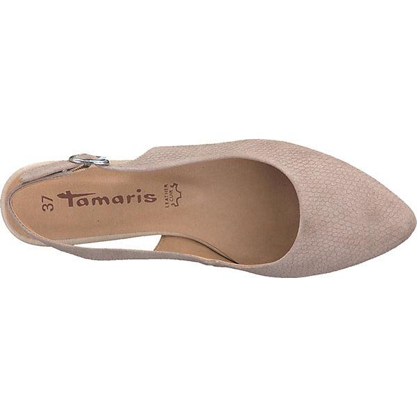 Tamaris Sling Pumps Tamaris Sling taupe Pumps nwBZYq1O