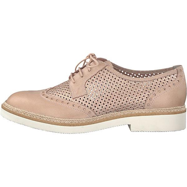 Tamaris, Schnürschuhe, rosa  beliebte Gute Qualität beliebte  Schuhe 4569cf