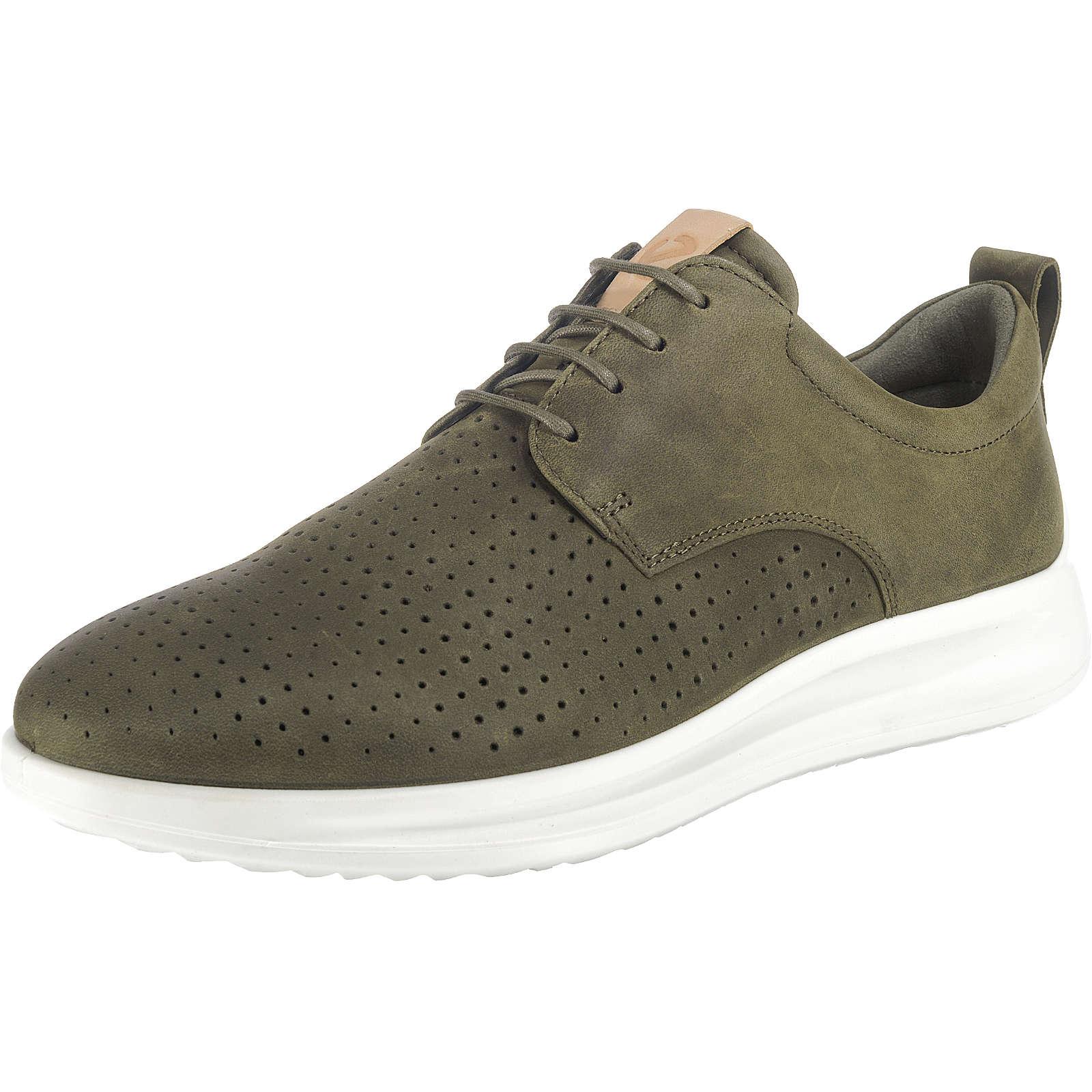 ecco Aquet Sneakers Low khaki Herren Gr. 41