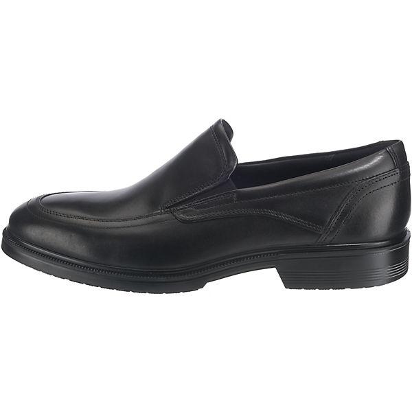 ecco, schwarz Lisbon  Klassische Slipper, schwarz ecco,  Gute Qualität beliebte Schuhe 083baf