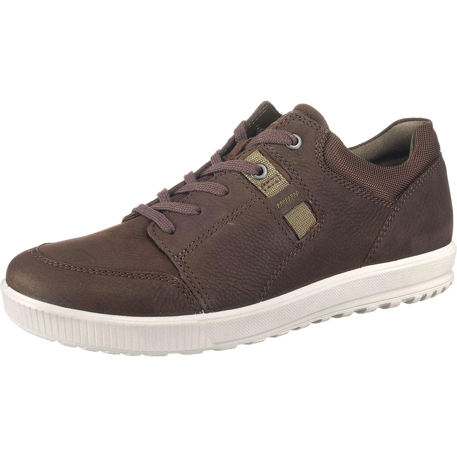 ecco Ennio Sneakers Low braun Herren Gr. 42