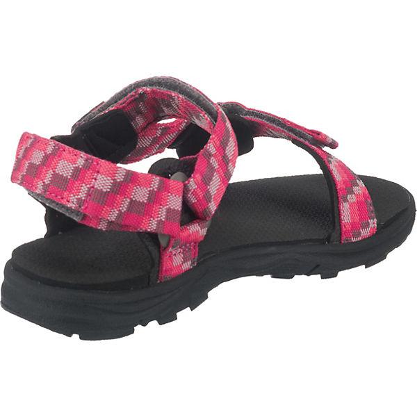 Jack Wolfskin Sandalen SEVEN SEAS 2 für Mädchen pink