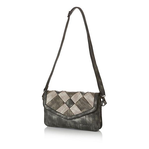 Betty Barclay Handtasche im edlen Design grau-kombi