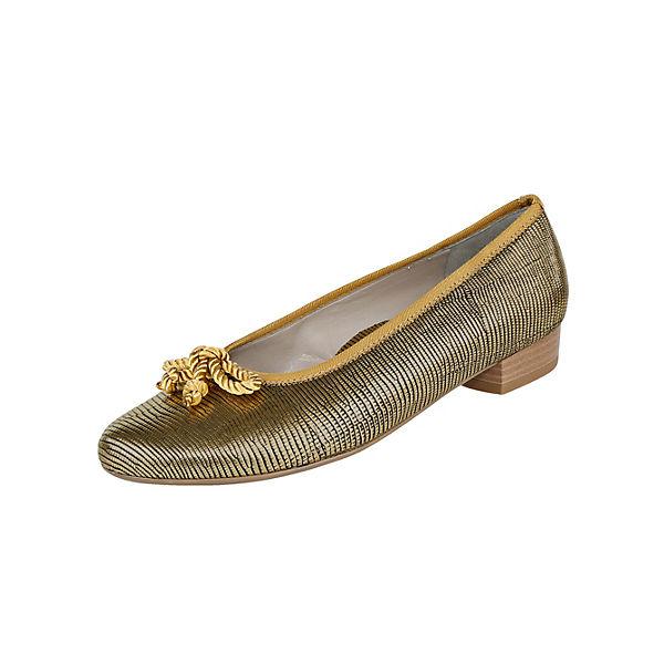JENNY Klassische Ballerinas gold