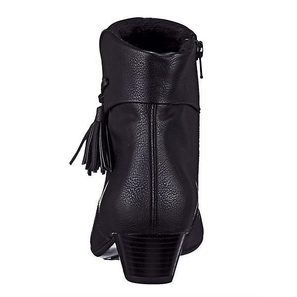 JENNY, Ankle Boots, schwarz beliebte  Gute Qualität beliebte schwarz Schuhe 09d025