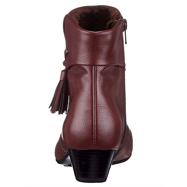 JENNY, Ankle Qualität Boots, bordeaux  Gute Qualität Ankle beliebte Schuhe b0e3cd