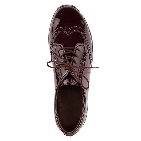 JENNY Schnürschuhe bordeaux  Gute Qualität beliebte Schuhe