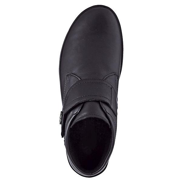 Naturläufer Komfort-Stiefeletten schwarz  Gute Qualität beliebte Schuhe