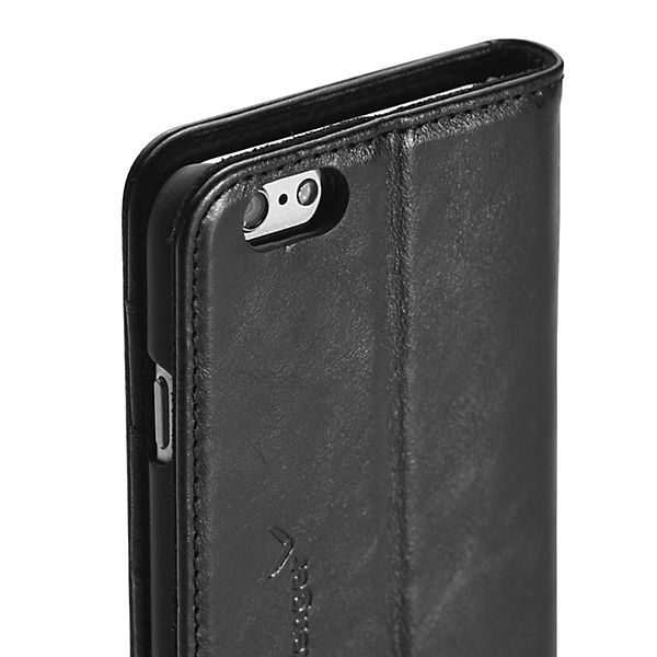 Packenger Handyhülle Luxury Collection iPhone 6/6S Plus schwarz