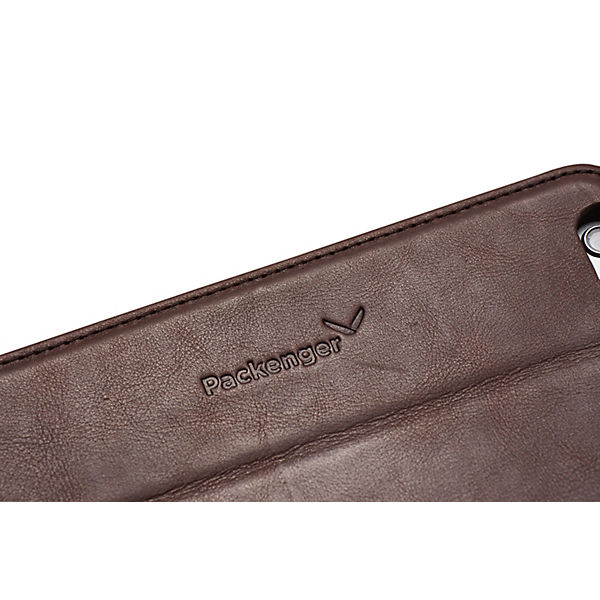 Packenger Handyhülle Luxury Collection iPhone 6/6S Plus dunkelbraun