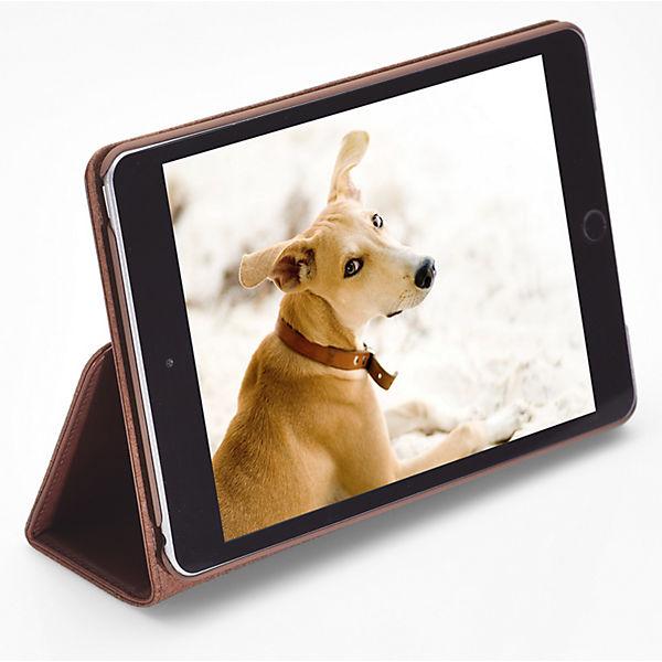 Packenger iPad Hülle Luxury Collection mit Wake Up Funktion dunkelbraun