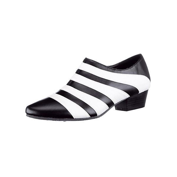 Liva Loop Ankle Boots schwarz-kombi
