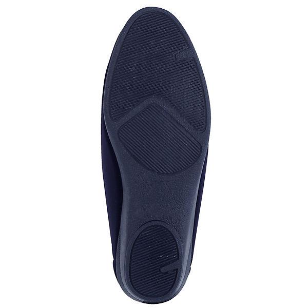 Naturläufer Komfort-Slipper blau