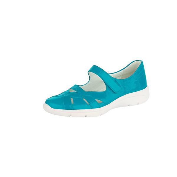 Naturläufer Komfort-Halbschuhe türkis  Gute Qualität beliebte Schuhe