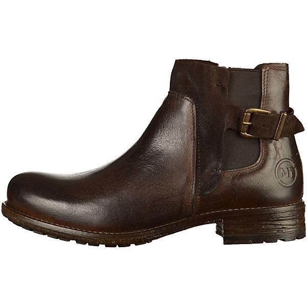 MARCO TOZZI, Schlupfstiefeletten, braun  Gute Qualität beliebte Schuhe