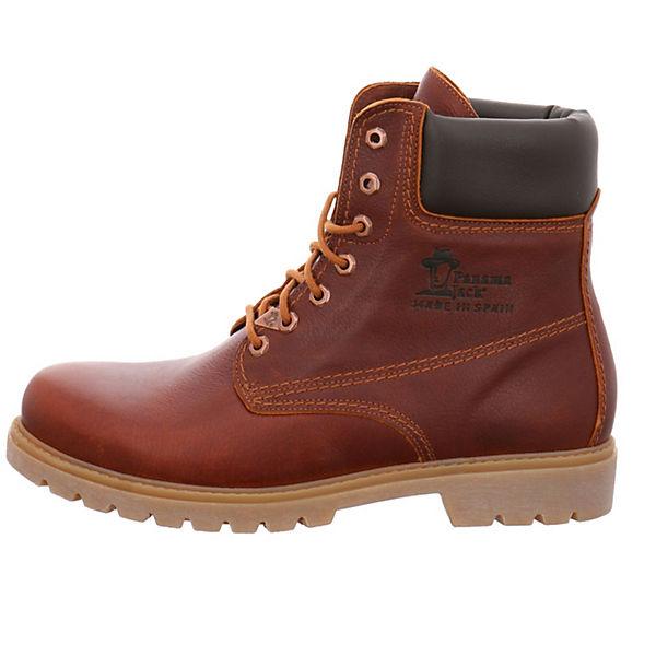 PANAMA JACK Schnürstiefeletten braun  Gute Qualität beliebte Schuhe