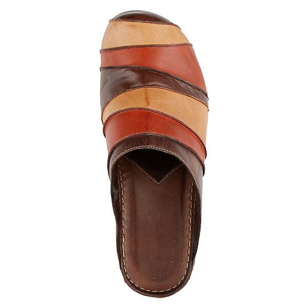 GEMINI, Pantoletten, beliebte braun  Gute Qualität beliebte Pantoletten, Schuhe 5aa990