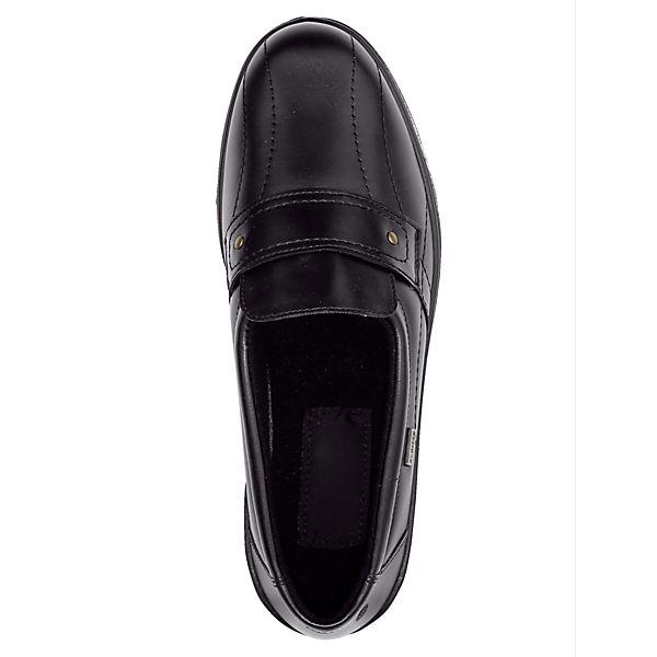 Alpina Komfort-Slipper schwarz