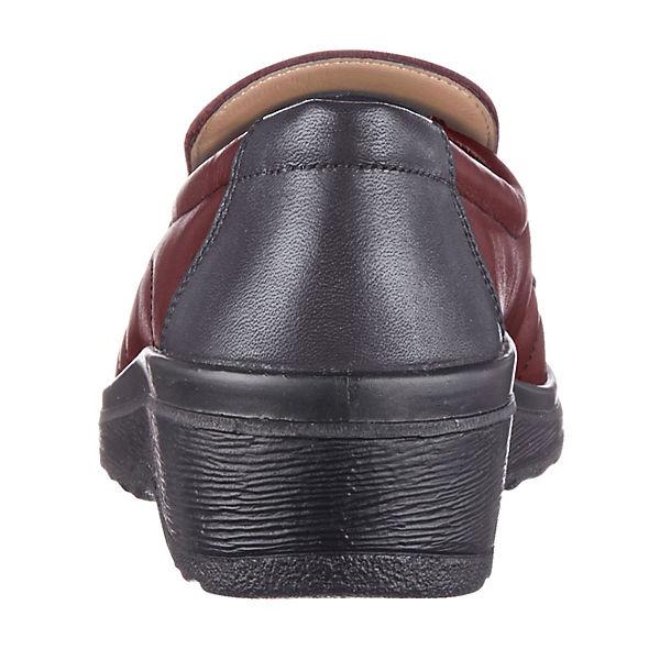 Alpina Komfort-Slipper bordeaux