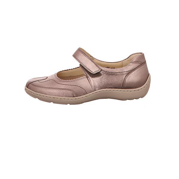 WALDLÄUFER Klassische Slipper rosa