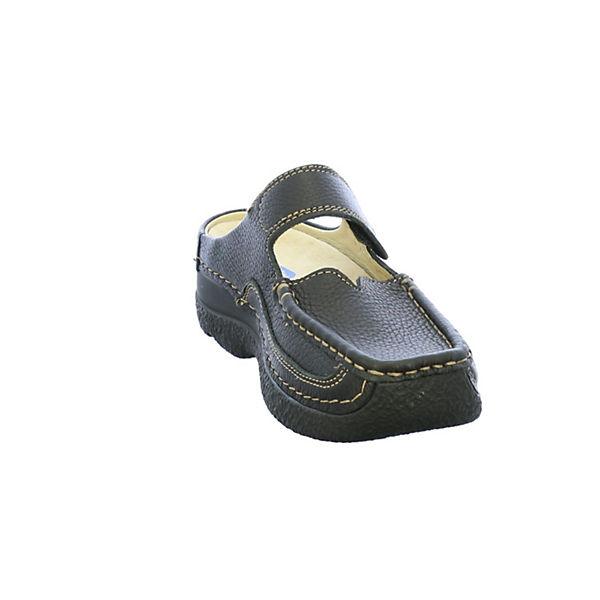 Wolky, Pantoletten, Gute schwarz Gute Pantoletten, Qualität beliebte Schuhe 91eda7