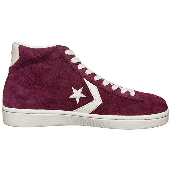 Mid Pro High Leather Sneakers CONVERSE bordeaux qEdw6Hd4nY