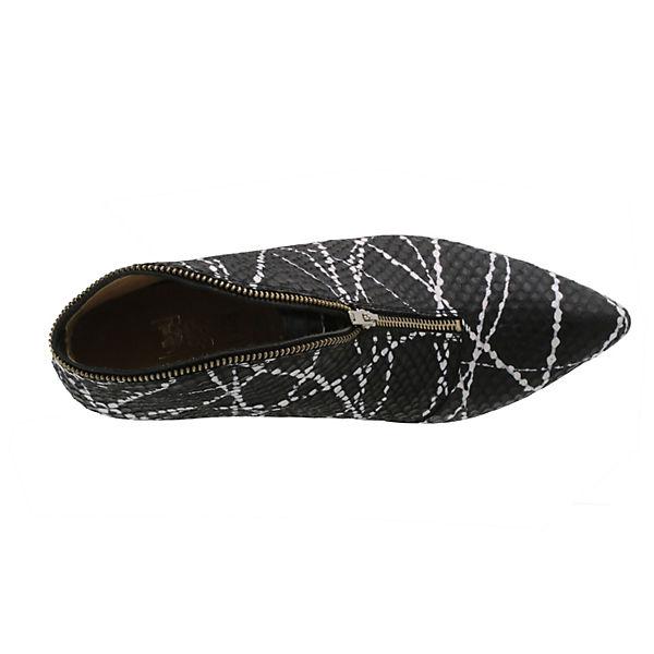 Tiggers® Ankle Wega weiß Boots schwarz vv4qHPwr