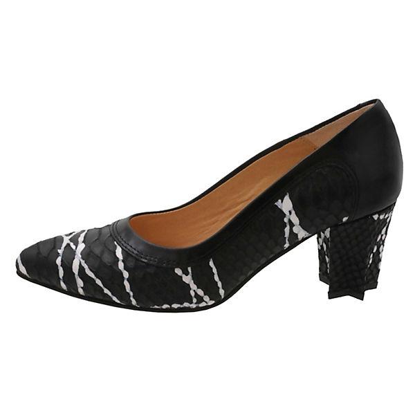 Tiggers®, Klassische Pumps Wega, schwarz/weiß schwarz/weiß Wega, Gute Qualität beliebte Schuhe d46114