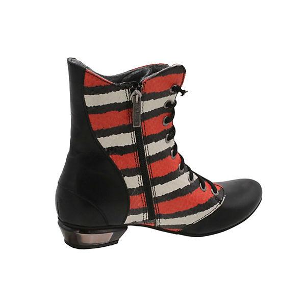 Tiggers® Schnürstiefeletten Paula schwarz-kombi  Schuhe Gute Qualität beliebte Schuhe  b24ad7